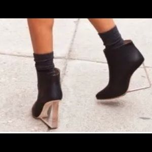 Maison Martin Margiela for H&M wedge heel boots